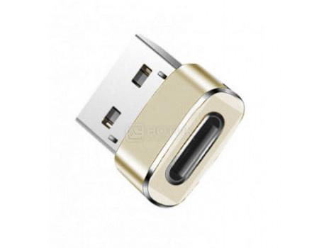 Переходник Red Line USB - USB Type-C Золотистый УТ000014354 фото