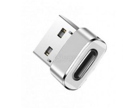 Переходник Red Line USB - USB Type-C Серебристый УТ000014089 фото