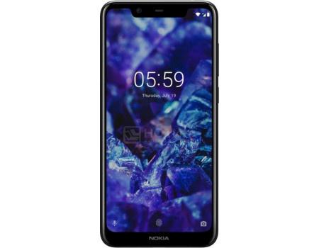 Смартфон Nokia 5.1 Plus DS 32Gb Night black (Android 8.0 (Oreo)/MT6771 1800MHz/5.86