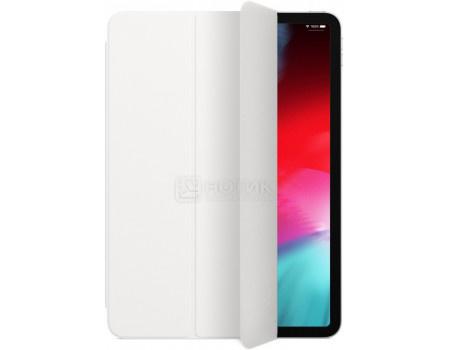 Чехол-обложка для планшета Apple iPad Pro 11 Smart Folio White, Полиуретан, Белый MRX82ZM/A