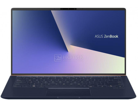 Ультрабук ASUS Zenbook 14 BX433FN-A5182R (14.00 IPS (LED)/ Core i5 8265U 1600MHz/ 8192Mb/ SSD / NVIDIA GeForce® MX150 2048Mb) MS Windows 10 Professional (64-bit) [90NB0JQ1-M04490]