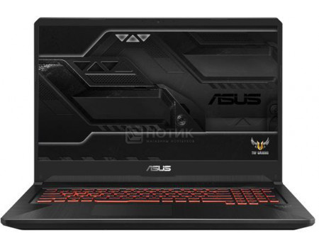 Ноутбук ASUS TUF Gaming FX705GD-EW218 (17.30 IPS (LED)/ Core i7 8750H 2200MHz/ 8192Mb/ HDD+SSD 1000Gb/ NVIDIA GeForce® GTX 1050 4096Mb) Без ОС [90NR0112-M05030]