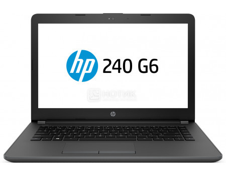 Ноутбук HP 240 G6 (14.00 TN (LED)/ Core i3 7020U 2300MHz/ 4096Mb/ SSD / Intel HD Graphics 620 64Mb) MS Windows 10 Professional (64-bit) [4QX59EA]