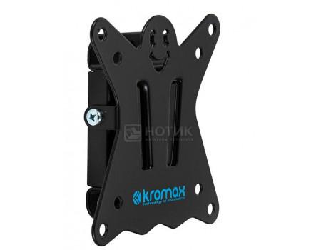 Кронштейн Kromax CASPER-100 10-32 макс.25кгVESA: 75x75 100x100 Настенный фиксированный 20167.