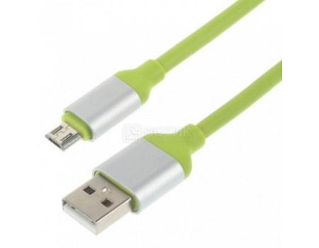 Кабель JOYROOM, USB - microUSB Round, 1.5м, Зеленый S318 1.5 m Green фото