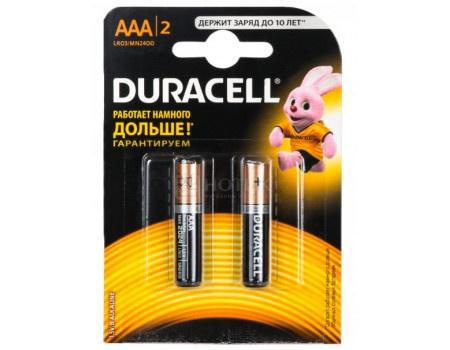 Батарейки Duracell LR03-2BL BASIC AAA 2 штуки фото