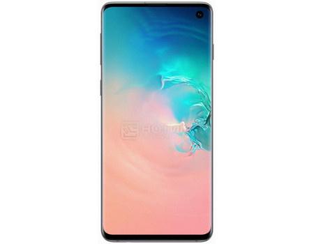 """Смартфон Samsung Galaxy S10 128Gb SM-G973F Prism White (Android 9.0 (Pie)/Exynos 9820 2700MHz/6.10"""" 3040x1440/8192Mb/128Gb/4G LTE ) [SM-G973FZWDSER]"""