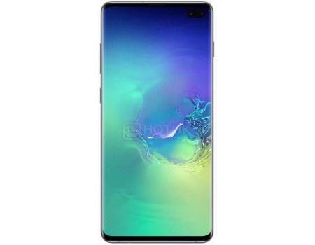 """Смартфон Samsung Galaxy S10+ 128Gb SM-G975F Prism Green (Android 9.0 (Pie)/Exynos 9820 2700MHz/6.40"""" 3040x1440/8192Mb/128Gb/4G LTE ) [SM-G975FZGDSER]"""