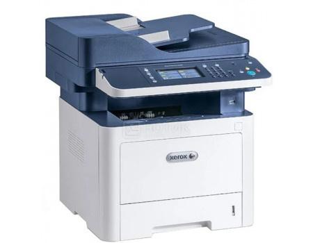 МФУ лазерное монохромное Xerox WorkCentre 3335DNI, A4, DADF, Duplex, 33 стр/мин , факс, LAN, WiFi, USB, Белый/Синий 3335V_DNI фото