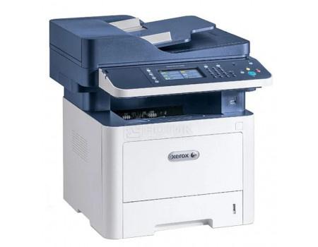 МФУ лазерное монохромное Xerox WorkCentre 3345DNI, A4, DADF, Duplex, 40 стр/мин , факс, LAN, WiFi, USB, Белый/Синий 3345V_DNI фото
