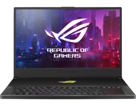 Ноутбук ASUS ROG ZEPHYRUS S GX701GX-EV071T (17.30 IPS (LED)/ Core i7 8750H 2200MHz/ 16384Mb/ SSD / NVIDIA GeForce® RTX 2080 в дизайне MAX-Q 8192Mb) MS Windows 10 Home (64-bit) [90NR00X1-M01370]