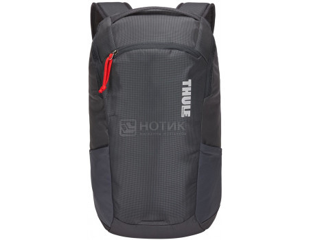 "Рюкзак 13"" Thule EnRoute Backpack 14L, Нейлон, Asphalt, Серый 3203826 фото"