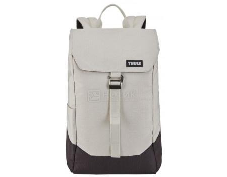 "Рюкзак 14"" Thule Lithos Backpack 16L, Полиэстер, Concrete/Black, Бежевый/Черный 3203820 фото"