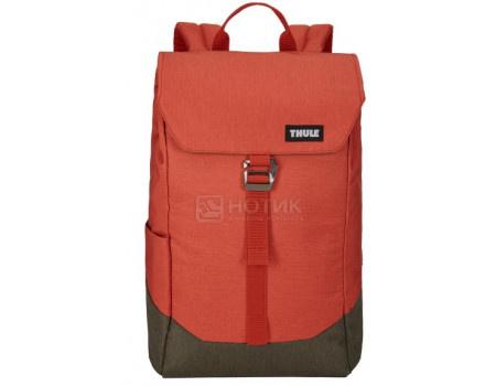 "Картинка для Рюкзак 14"" Thule Lithos Backpack 16L, Полиэстер, Rooibos/Forest Night, Красный/Коричневый 3203821"