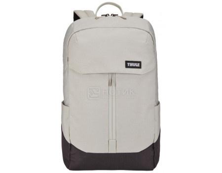 "Рюкзак 15,6"" Thule Lithos Backpack 20L, Полиэстер, Concrete/Black, Бежевый/Черный 3203823 фото"