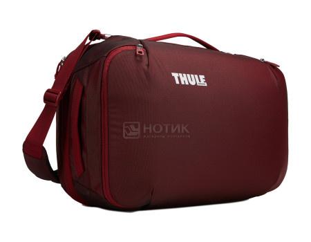 Дорожная сумка-рюкзак Thule Subterra Convertible Carry-On 40L, Нейлон, Ember, Бордовый 3203445 фото