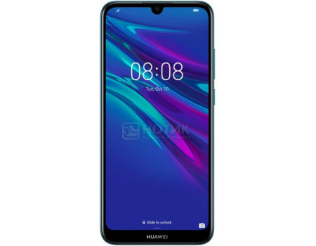 Смартфон Huawei Y6 2019 Sapphire Blue (Android 8.0 (Oreo)/MT6761 2000MHz/6.09