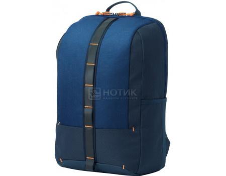 "Рюкзак 15,6"" HP Commuter Black Backpack, 5EE92AA , Полиэстер, Синий фото"