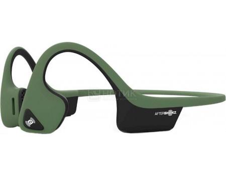 Гарнитура беспроводная Aftershokz Trekz Air, Bluetooth, Forest Green, Зеленый AS650FG