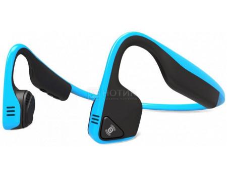 Гарнитура беспроводная Aftershokz Trekz Titanium, Bluetooth, Ocean Blue, Голубой AS600OB