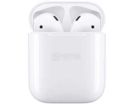 Гарнитура беспроводная Apple AirPods 2 with Charging Case 2019 (без беспроводной зарядки чехла) MV7N2RU/A Белый.