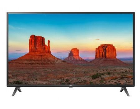 Телевизор LG 65 LED, UHD, IPS, Smart TV (webOS) Звук (20 Вт (2x20 Вт)), 3xHDMI, 2xUSB, 1xRJ-45, Черный, 65UK6300PLB