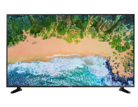 Телевизор Samsung 43 UHD, Smart TV , Звук (20 Вт (2x10 Вт)), 2xHDMI, 1xUSB, 1xRJ-45, PQI 1300, Черный UE43NU7090UXRU