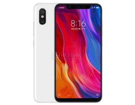 Смартфон Xiaomi Mi 8 64Gb White (Android 8.1 (Oreo)/SDM845 2800MHz/6.21