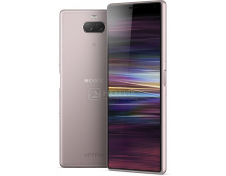 "Смартфон Sony Xperia 10 Dual Pink (Android 9.0 (Pie)/SDM630 2200MHz/6.00"" 2520x1080/3072Mb/64Gb/4G LTE ) [1318-5905]"