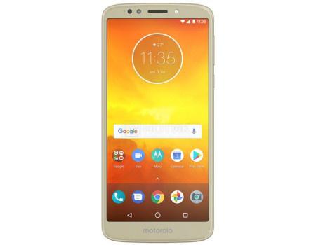Смартфон Motorola Moto E5 Plus 32Gb Fine Gold (Android 8.0 (Oreo)/MSM8917 1400MHz/6.00