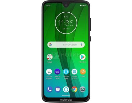 Смартфон Motorola Moto G7 64Gb Ceramic Black (Android 9.0 (Pie)/SDM632 1800MHz/6.20