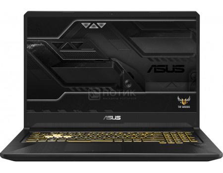 Ноутбук ASUS TUF Gaming FX705GE-EW169 (17.30 IPS (LED)/ Core i7 8750H 2200MHz/ 8192Mb/ HDD 1000Gb/ NVIDIA GeForce® GTX 1050Ti 4096Mb) Без ОС [90NR00Z1-M03990]