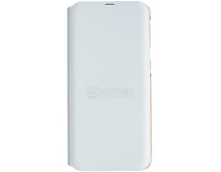 Картинка для Чехол-книжка Samsung Wallet Cover для Samsung Galaxy A40, Полиуретан, White, Белый, EF-WA405PWEGRU