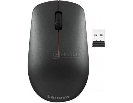 Мышь беспроводная Lenovo 400 Wireless Mouse, 1200dpi Черный GY50R91293  - купить со скидкой