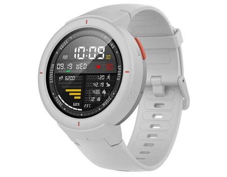 Смарт-часы Amazfit Verge, BT, NFC, 390 мАч, IP68, Белый 6970100371536 фото