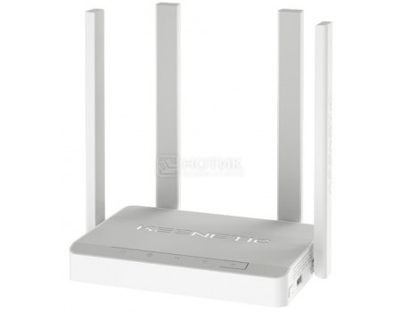 Маршрутизатор Keenetic Duo 4G ready 10/100BASE-TX, 1xWAN(DSL), 4xLAN, 802.11ac до 867Мбит/с, 1xUSB, Белый KN-2110 фото