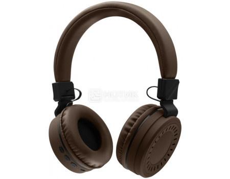 Гарнитура беспроводная Rombica Mysound BH-11, Bluetooth, 200мАч, Коричневый BT-H018 фото