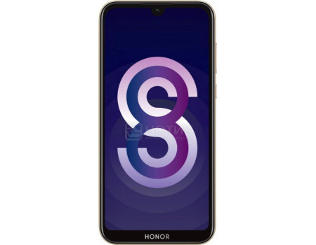 "Смартфон Huawei Honor 8S 32Gb Gold (Android 9.0 (Pie)/MT6761 2000MHz/5.71"" 1520x720/2048Mb/32Gb/4G LTE ) [51093SPJ]"