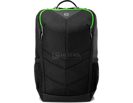 "Рюкзак 15,6"" HP Pavilion Gaming Backpack 400, 6EU57AA , Полиэстер, Черный фото"