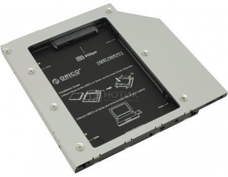 Переходник Optibay ORICO L95SS-SV для установки в ноутбук/моноблок SSD/HDD SATA вместо DVD-привода (9,5mm) L95SS-SV фото