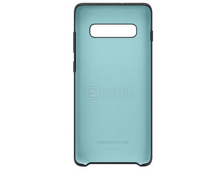 Чехол-накладка Samsung Silicone Cover для смартфона Samsung Galaxy S10+ , Силикон, Black, Черный, EF-PG975TBEGRU фото