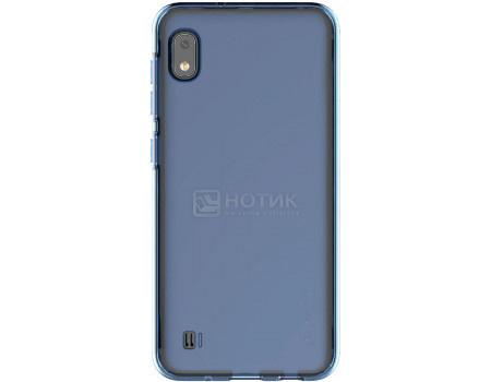 Чехол-накладка Araree A Cover для смартфона Samsung Galaxy A10, Термополиуретан, Blue, Синий, GP-FPA105KDALR фото