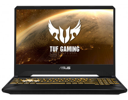 Ноутбук ASUS TUF Gaming FX505DU-BQ061 (15.60 IPS (LED)/ Ryzen 7 3750H 2300MHz/ 8192Mb/ HDD+SSD 1000Gb/ NVIDIA GeForce® GTX 1660Ti 6144Mb) Без ОС [90NR0271-M03050]
