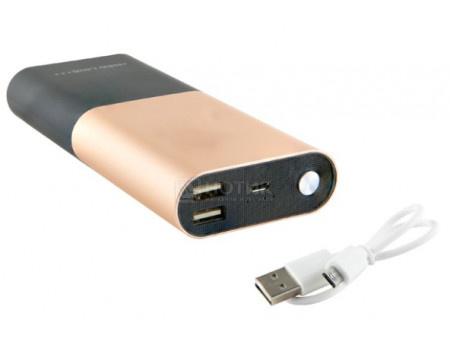 Внешний аккумулятор Red Line T7 9000 мАч, 5V/2.0А, 2xUSB, 1xUSB Type-C, Золотистый УТ000013957 фото
