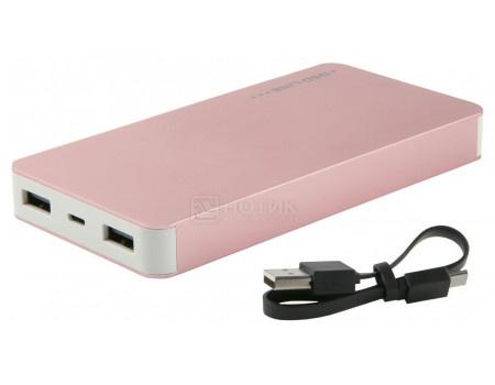 Внешний аккумулятор Red Line T2 8000 мАч, 5V/2.1А, 2xUSB, Розовый УТ000015979 фото