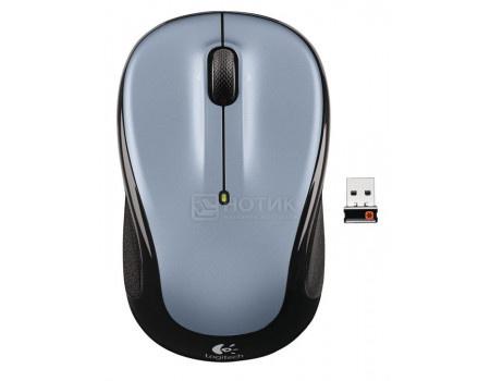 Мышь беспроводная Logitech M325 Light Silver, 1000dpi, Wireless, Светло-серый, 910-002334