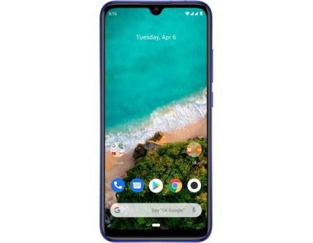 Смартфон Xiaomi Mi A3 128Gb Not just Blue (Android 9.0 (Pie)/SDM665 2000MHz/6.01