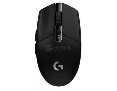 Мышь беспроводная Logitech G305 LIGHTSPEED, 12000dpi, Wireless, Черный, 910-005282