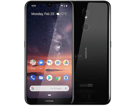 Смартфон Nokia 3.2 DS 16Gb Black (Android 9.0 (Pie)/SDM429 1800MHz/6.26