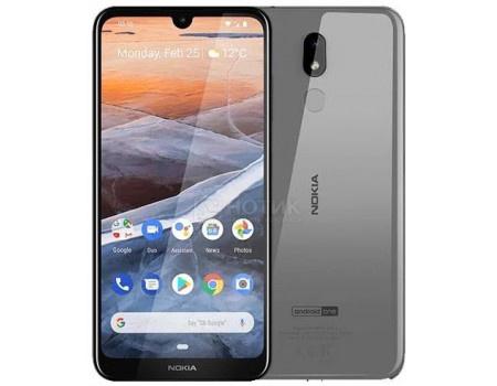Смартфон Nokia 3.2 DS 16Gb Steel (Android 9.0 (Pie)/SDM429 1800MHz/6.26